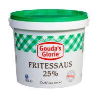 Fritessaus 25% original (groene deksel)
