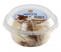 Mousse cup dame blanche