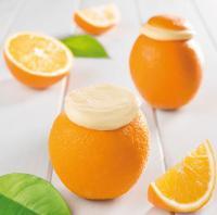 Helado naranja