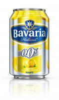 Bavaria radler lemon 0.0% blik