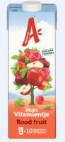 Rode fruitdrank multivitamientje
