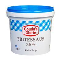 Fritessaus blauw 25%