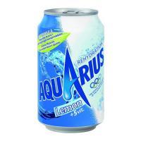 Aquarius lemon blik