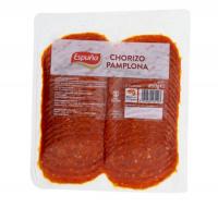 Espuna chorizo-gesneden spaanse worst