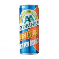 AA drink orange blik
