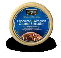 Chocolate & almond caramel cup